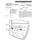 FOLDING ARMREST diagram and image