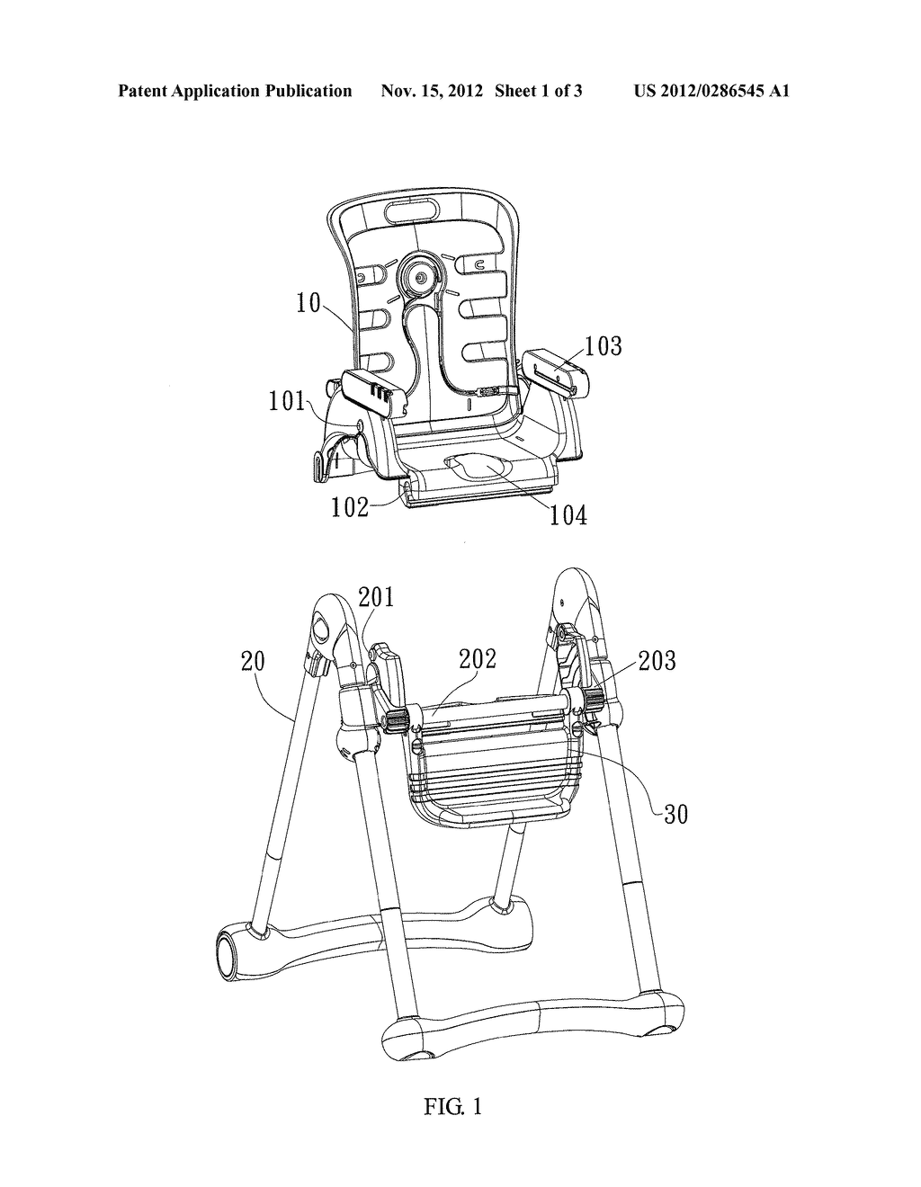 HIGHCHAIR - diagram, schematic, and image 02