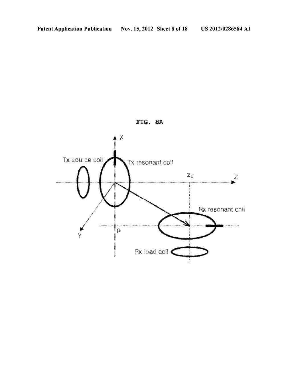 SPACE-ADAPTIVE WIRELESS POWER TRANSFER SYSTEM AND METHOD USING EVANESCENT     FIELD RESONANCE - diagram, schematic, and image 09