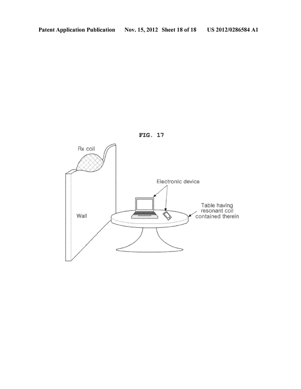 SPACE-ADAPTIVE WIRELESS POWER TRANSFER SYSTEM AND METHOD USING EVANESCENT     FIELD RESONANCE - diagram, schematic, and image 19