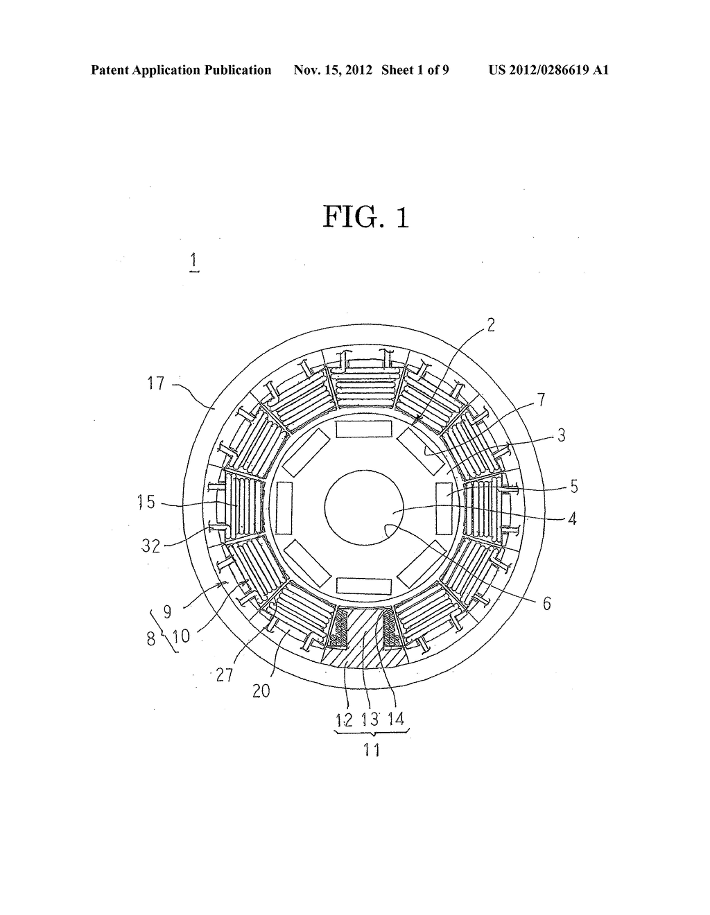 ROTARY ELECTRIC MACHINE AND METHOD FOR MANUFACTURING STATOR USED THEREIN - diagram, schematic, and image 02