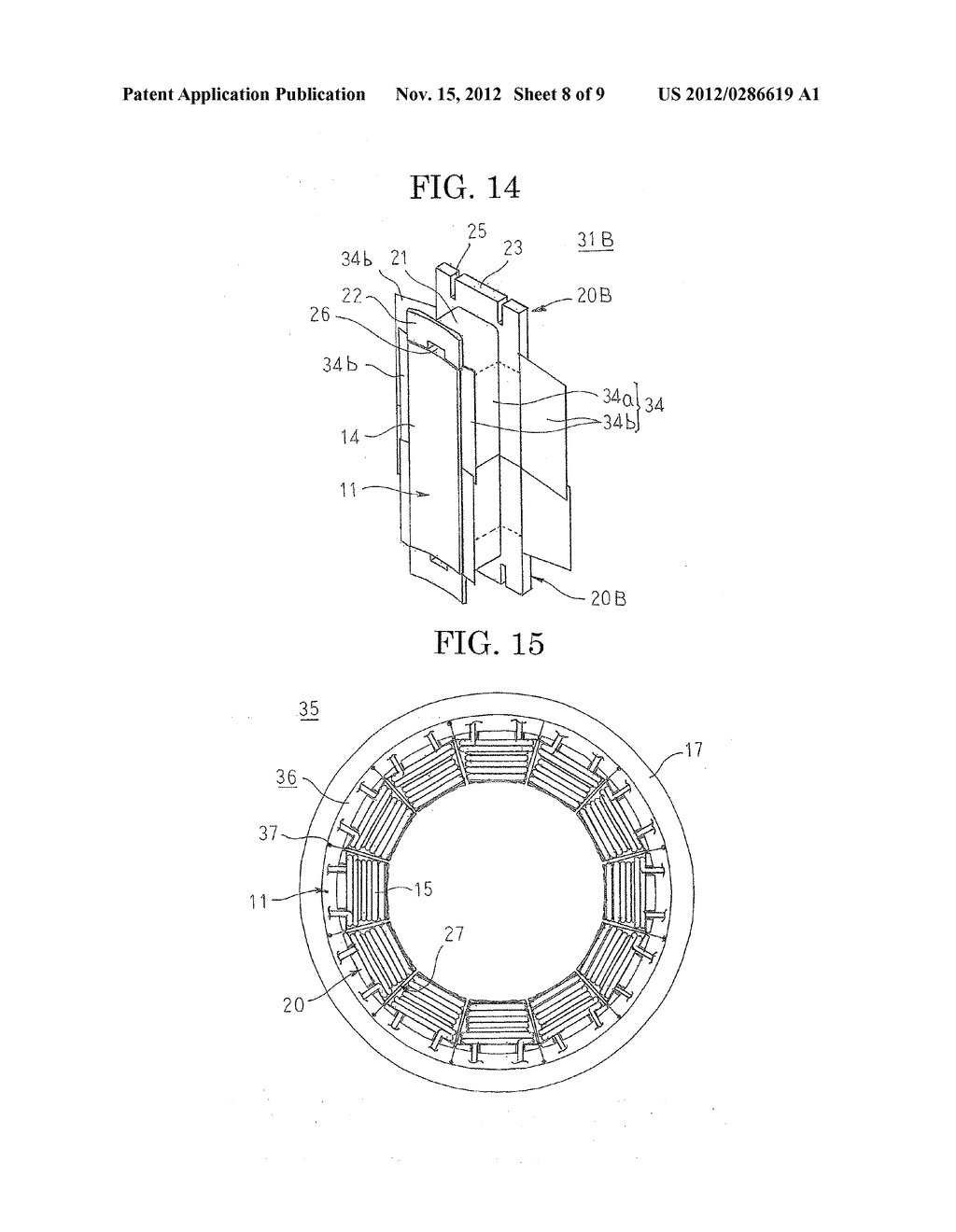 ROTARY ELECTRIC MACHINE AND METHOD FOR MANUFACTURING STATOR USED THEREIN - diagram, schematic, and image 09