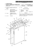 LEVELING ASSEMBLY FOR APPLIANCE DOORS diagram and image