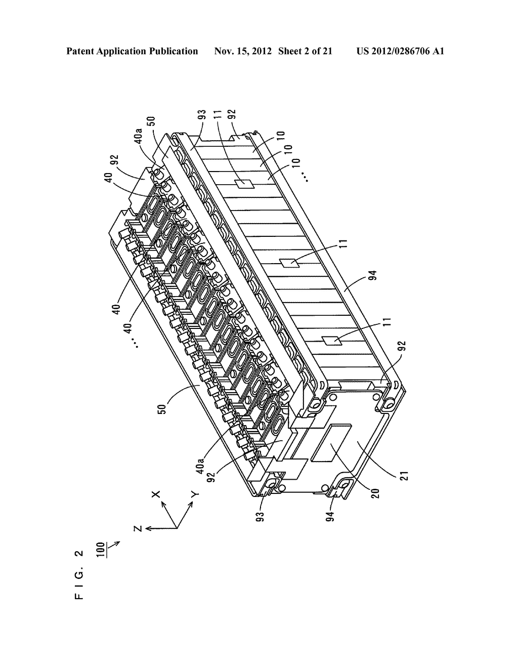 BATTERY MODULE, AND ELECTRIC VEHICLE, MOVABLE BODY, BATTERY SYSTEM, POWER     STORAGE DEVICE, AND POWER SUPPLY DEVICE INCLUDING THE SAME - diagram, schematic, and image 03