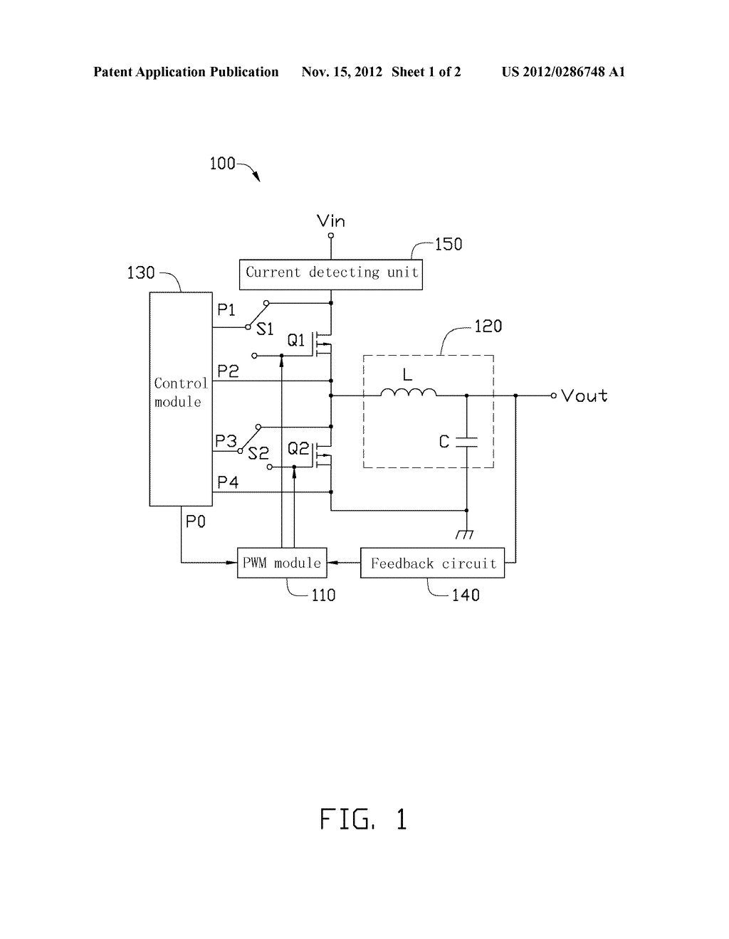 BUCK CONVERTER - diagram, schematic, and image 02