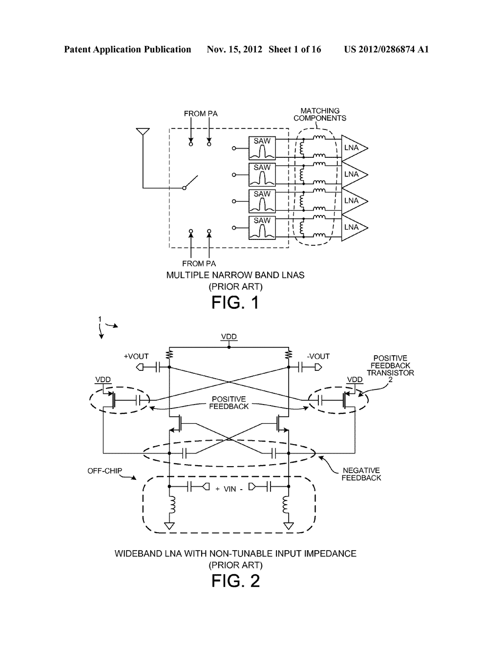 Positive Feedback Common Gate Low Noise Amplifier Diagram Transistor Schematic And Image 02