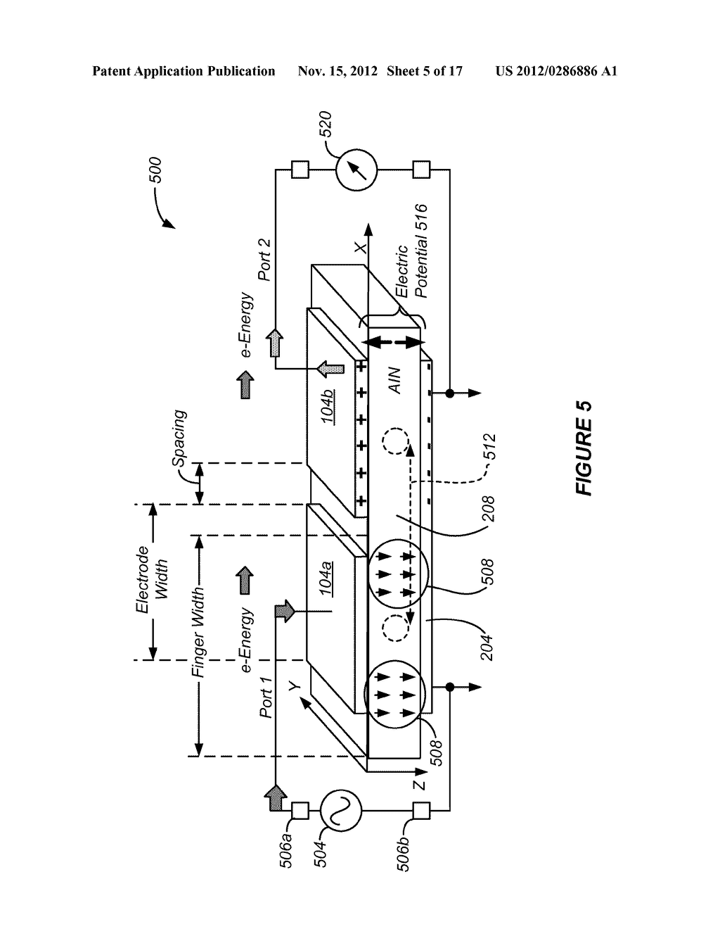 Electromechanical Systems Oscillator with Piezoelectric Contour Mode     Resonator for Multiple Frequency Generation - diagram, schematic, and image 06