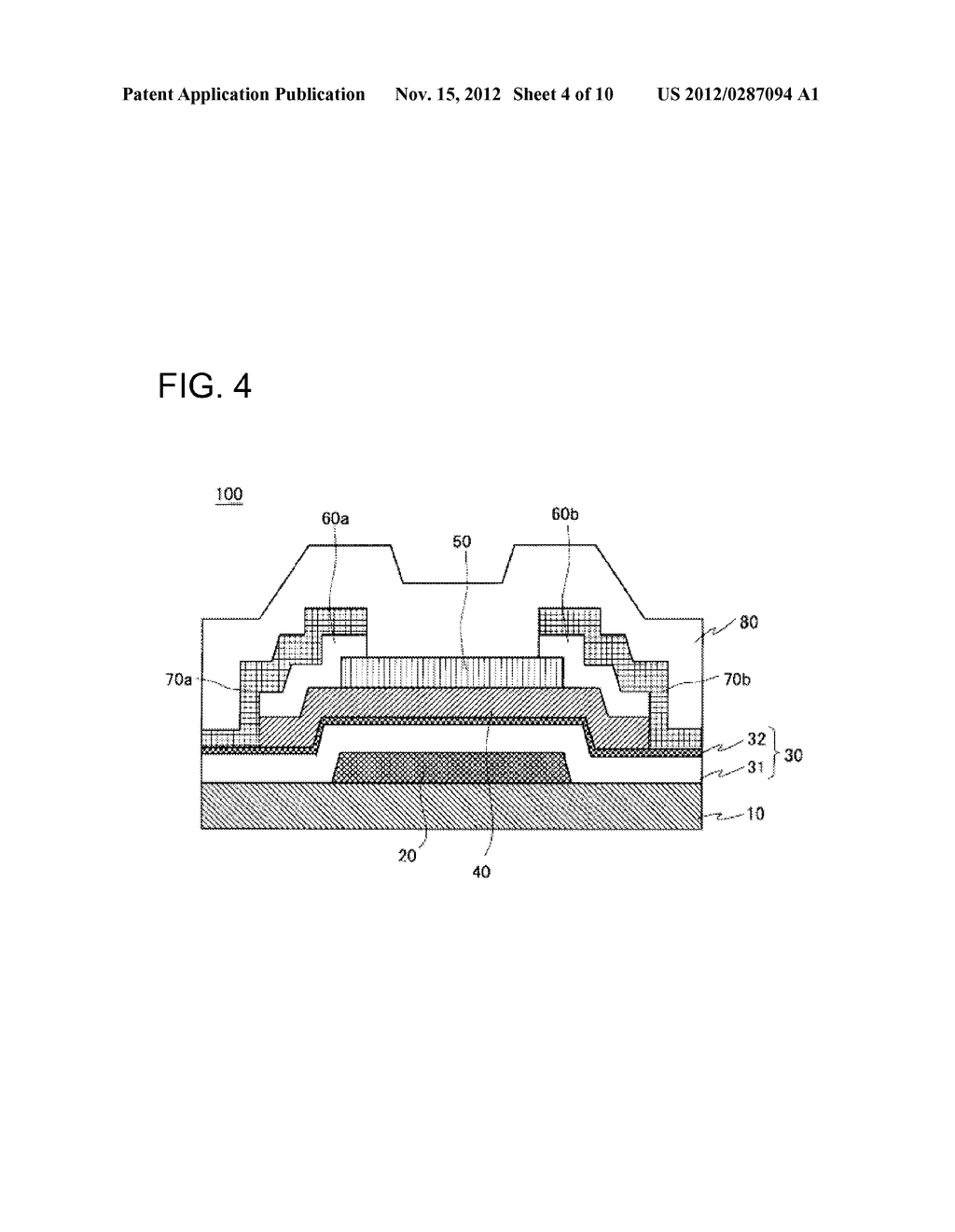 THIN FILM TRANSISTOR, METHOD FOR MANUFACTURING SAME, AND DISPLAY APPARATUS - diagram, schematic, and image 05