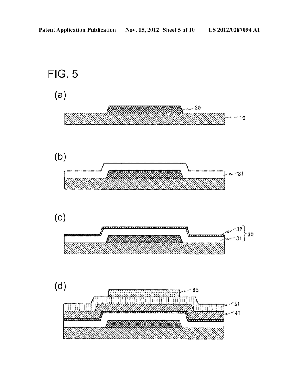 THIN FILM TRANSISTOR, METHOD FOR MANUFACTURING SAME, AND DISPLAY APPARATUS - diagram, schematic, and image 06