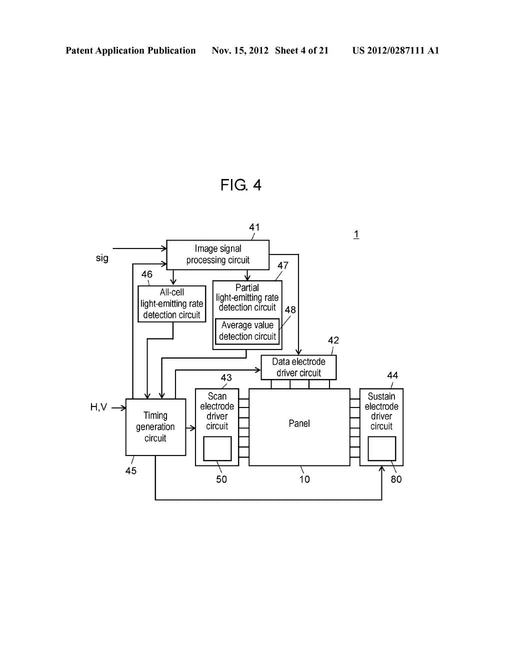 PLASMA DISPLAY DEVICE AND PLASMA DISPLAY PANEL DRIVING METHOD - diagram, schematic, and image 05