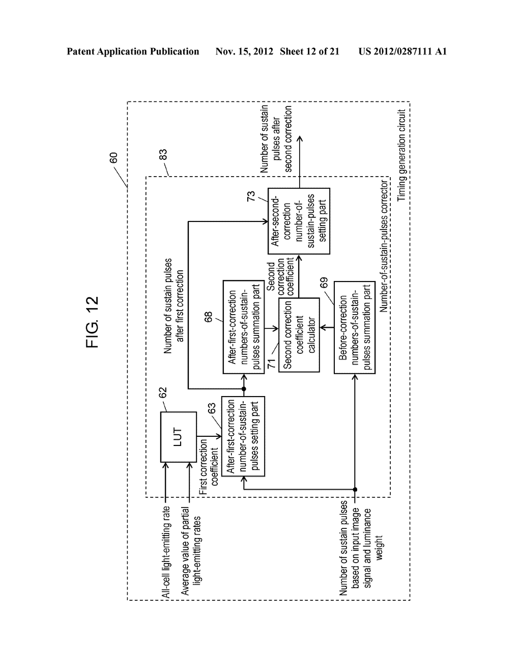 PLASMA DISPLAY DEVICE AND PLASMA DISPLAY PANEL DRIVING METHOD - diagram, schematic, and image 13