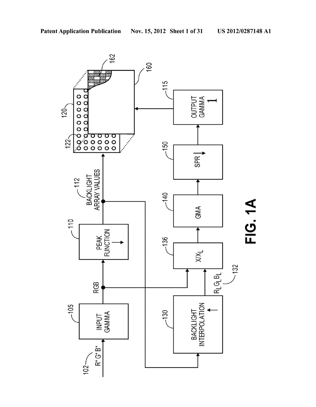 METHOD AND APPARATUS FOR IMPROVED SUBPIXEL RENDERING - diagram, schematic, and image 02