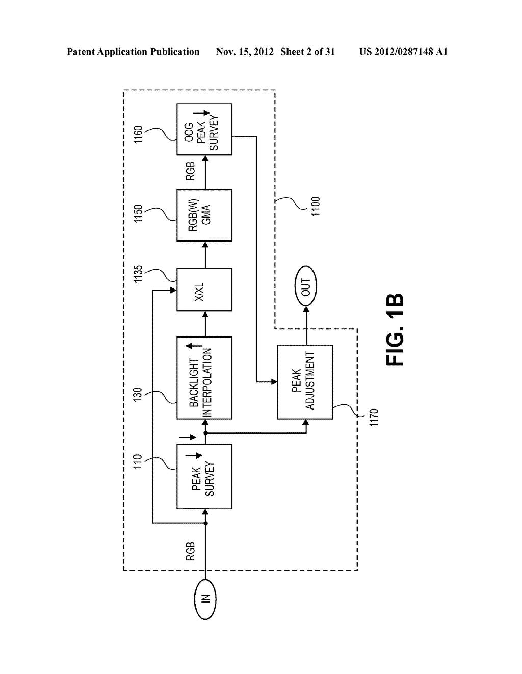 METHOD AND APPARATUS FOR IMPROVED SUBPIXEL RENDERING - diagram, schematic, and image 03