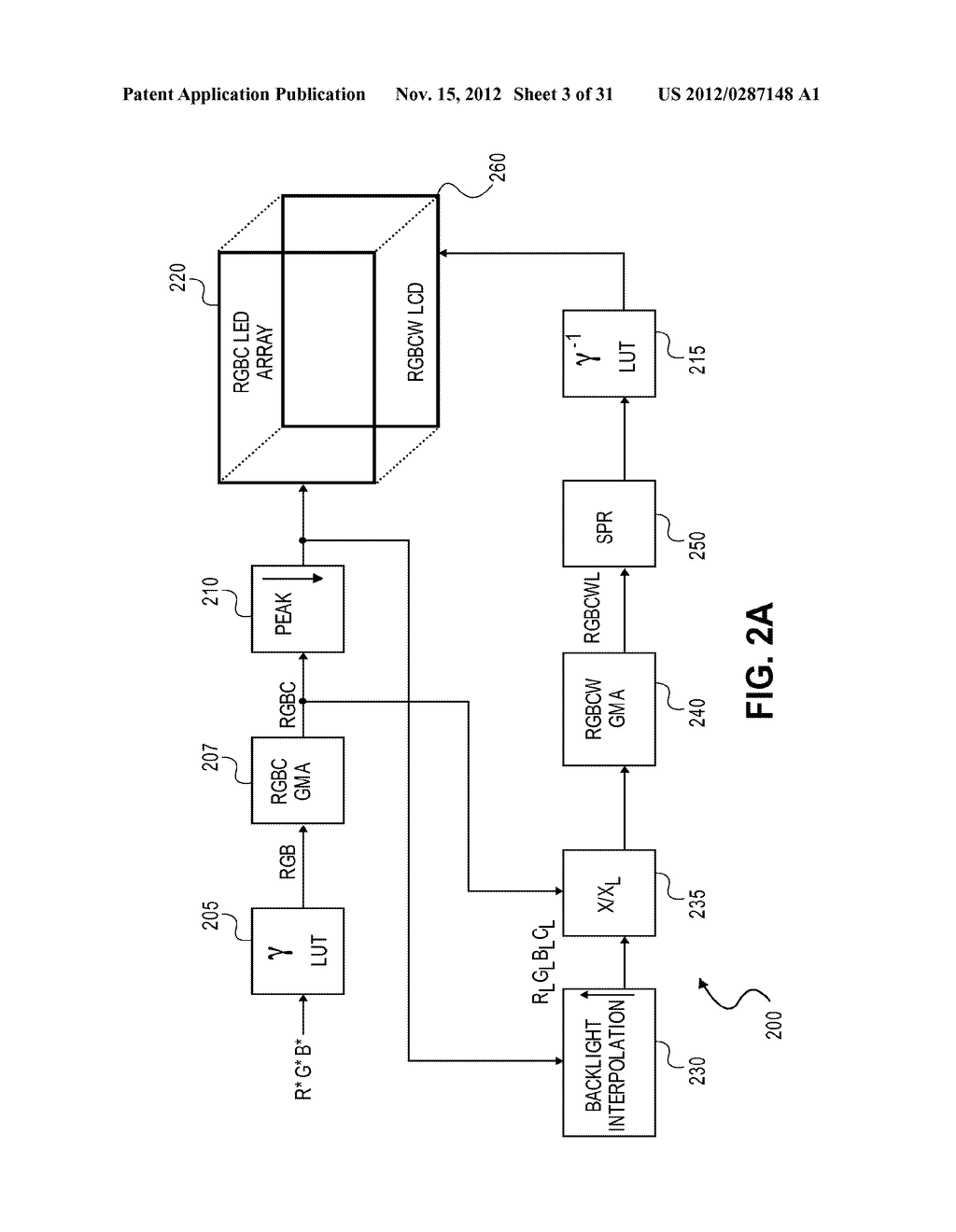 METHOD AND APPARATUS FOR IMPROVED SUBPIXEL RENDERING - diagram, schematic, and image 04