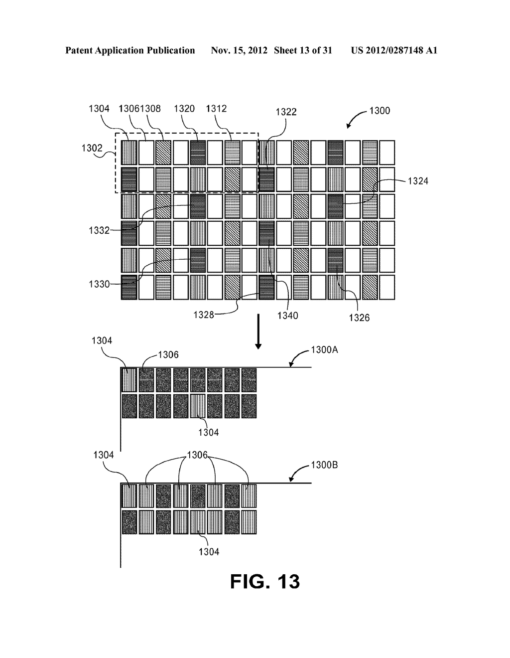 METHOD AND APPARATUS FOR IMPROVED SUBPIXEL RENDERING - diagram, schematic, and image 14