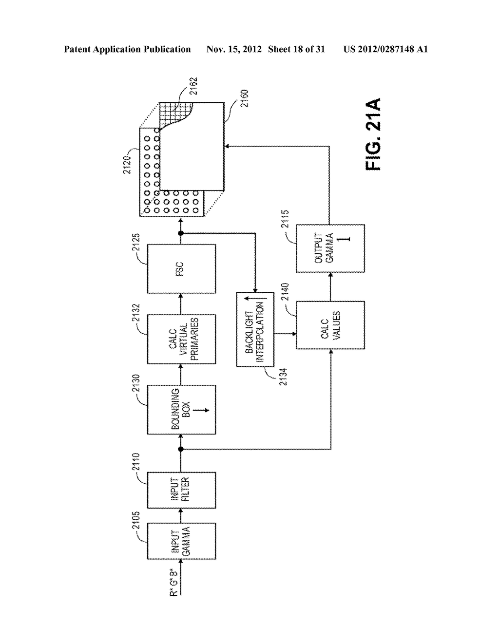 METHOD AND APPARATUS FOR IMPROVED SUBPIXEL RENDERING - diagram, schematic, and image 19