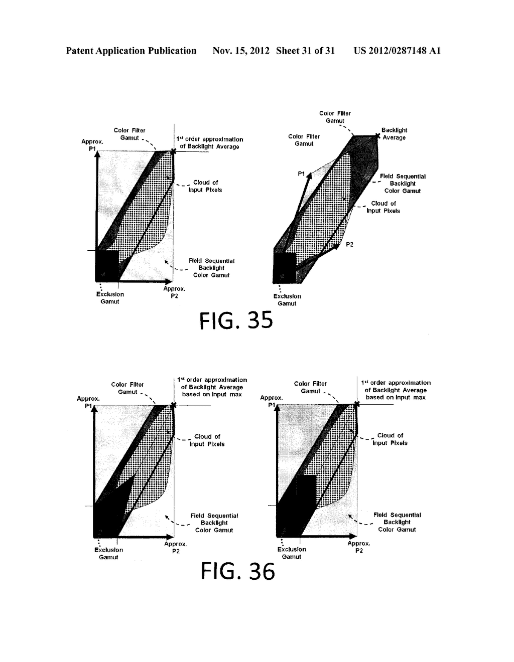 METHOD AND APPARATUS FOR IMPROVED SUBPIXEL RENDERING - diagram, schematic, and image 32