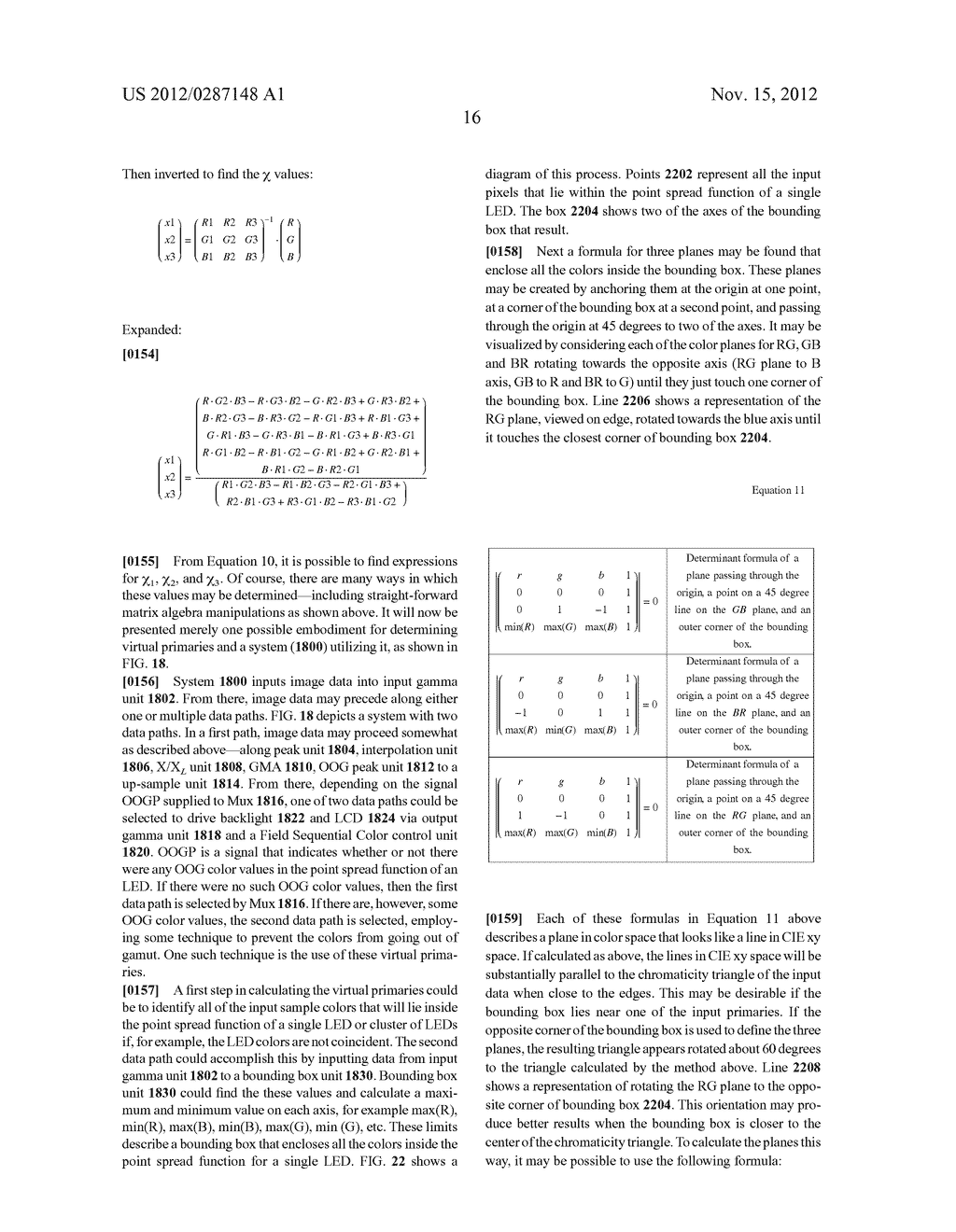 METHOD AND APPARATUS FOR IMPROVED SUBPIXEL RENDERING - diagram, schematic, and image 48