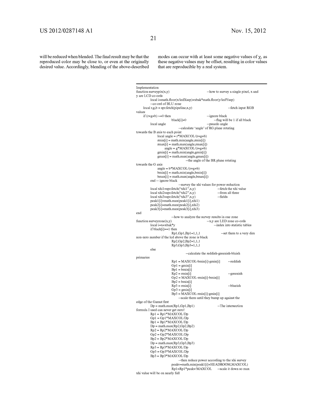 METHOD AND APPARATUS FOR IMPROVED SUBPIXEL RENDERING - diagram, schematic, and image 53