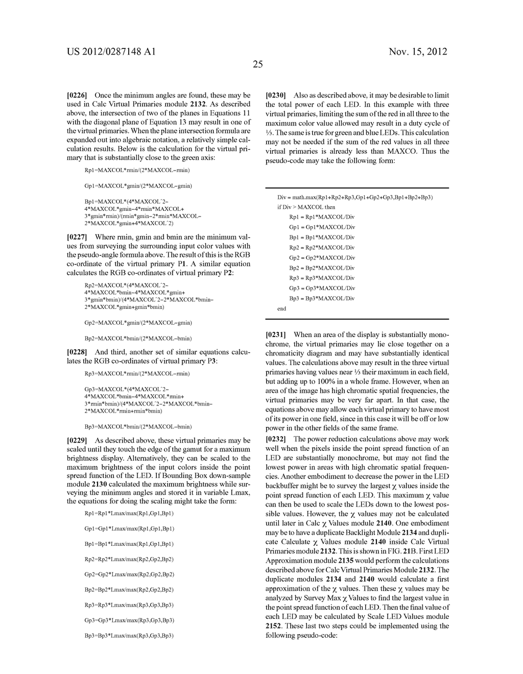 METHOD AND APPARATUS FOR IMPROVED SUBPIXEL RENDERING - diagram, schematic, and image 57