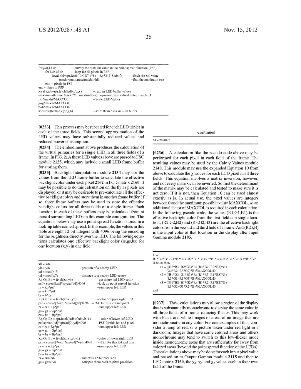 METHOD AND APPARATUS FOR IMPROVED SUBPIXEL RENDERING - diagram, schematic, and image 58