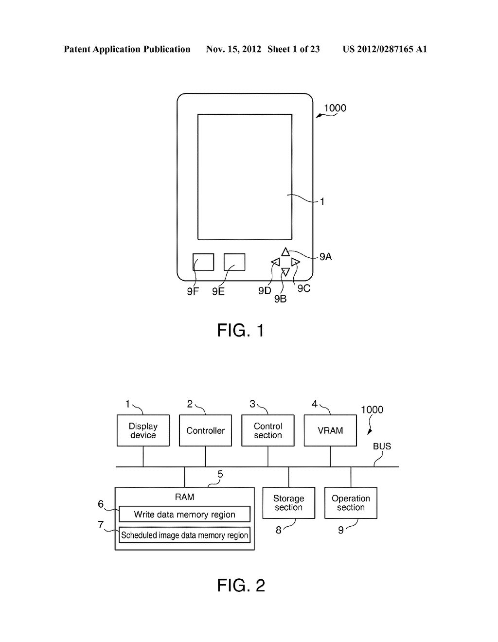 DISPLAY DEVICE, ELECTRONIC APPARATUS AND DISPLAY CONTROL METHOD - diagram, schematic, and image 02