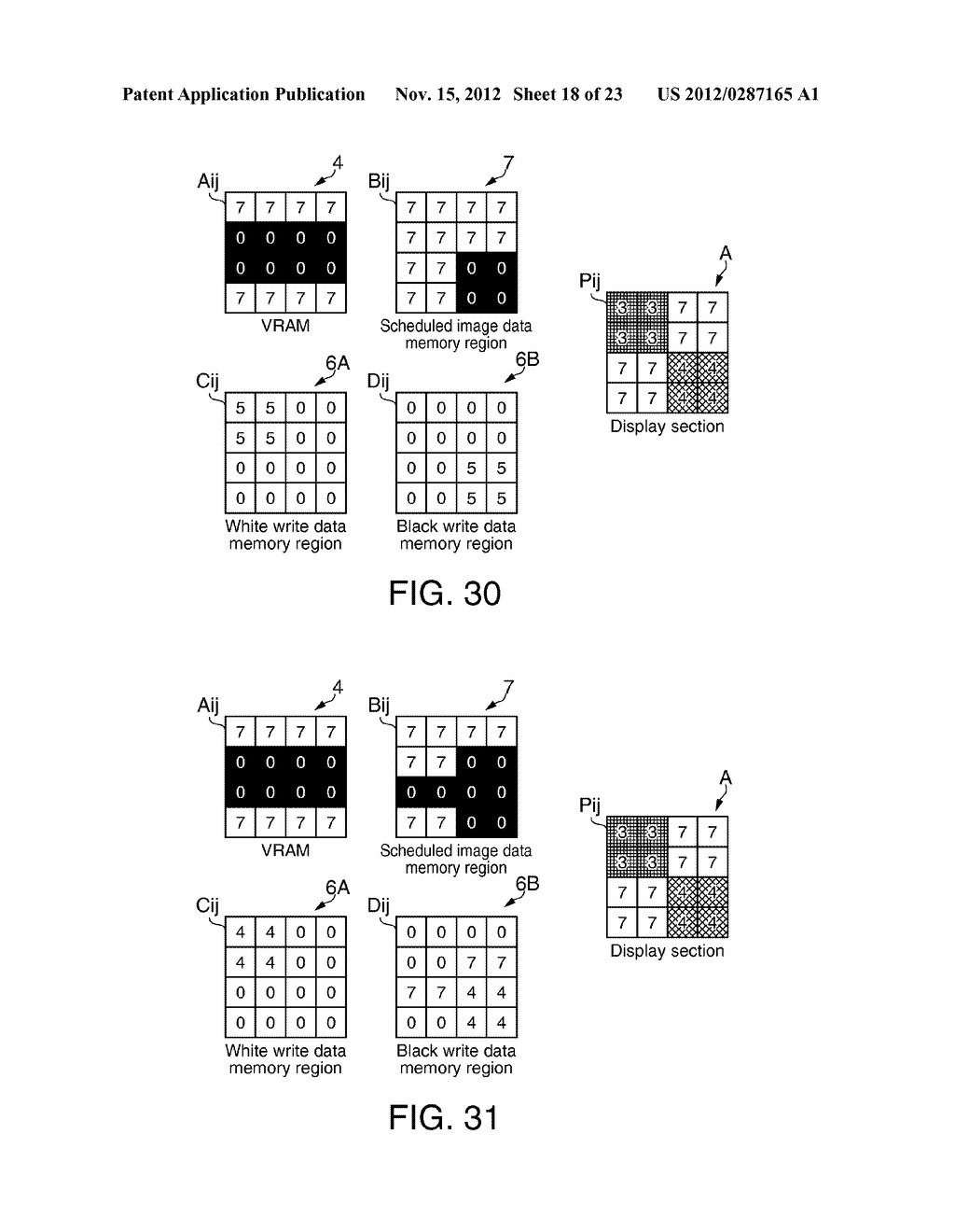 DISPLAY DEVICE, ELECTRONIC APPARATUS AND DISPLAY CONTROL METHOD - diagram, schematic, and image 19