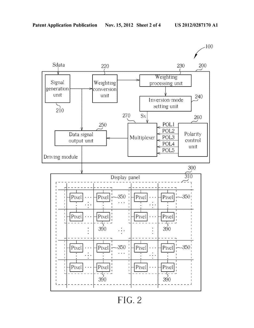 LIQUID CRYSTAL DISPLAY AND DRIVING METHOD THEREOF - diagram, schematic, and image 03