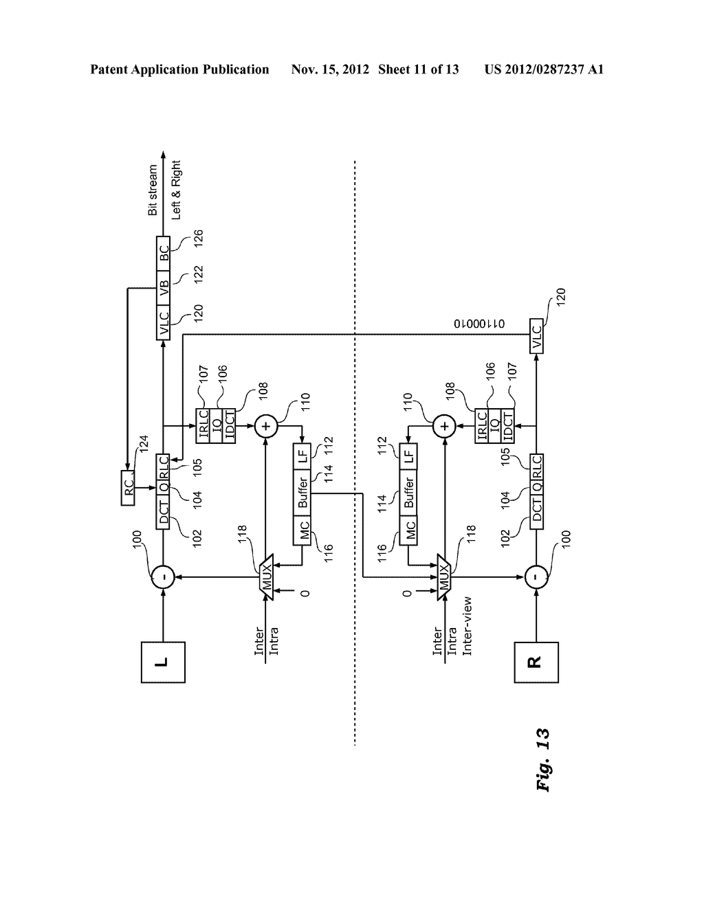 METHOD AND APPARATUS FOR PROCESSING VIDEO SIGNALS, RELATED COMPUTER     PROGRAM PRODUCT, AND ENCODED SIGNAL - diagram, schematic, and image 12