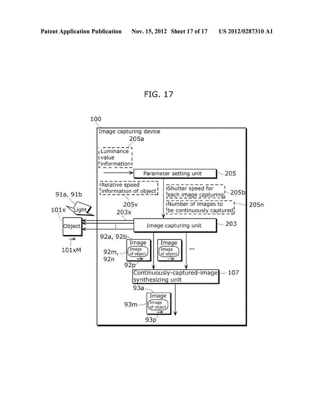 IMAGE CAPTURING DEVICE AND IMAGE CAPTURING METHOD - diagram, schematic, and image 18