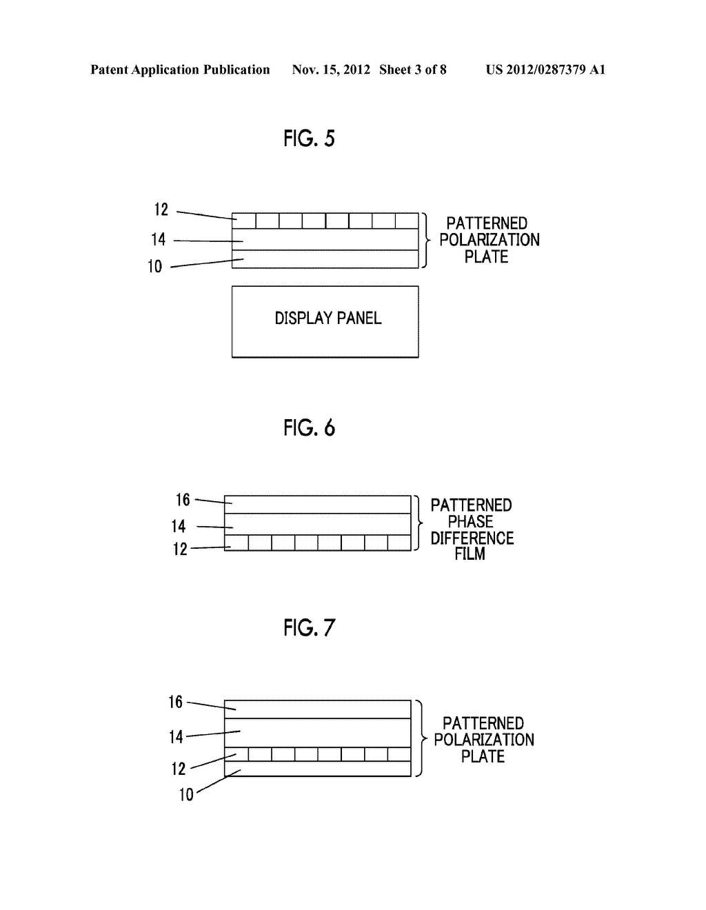 PATTERNED POLARIZATION PLATE, IMAGE DISPLAY APPARATUS AND IMAGE DISPLAY     SYSTEM - diagram, schematic, and image 04