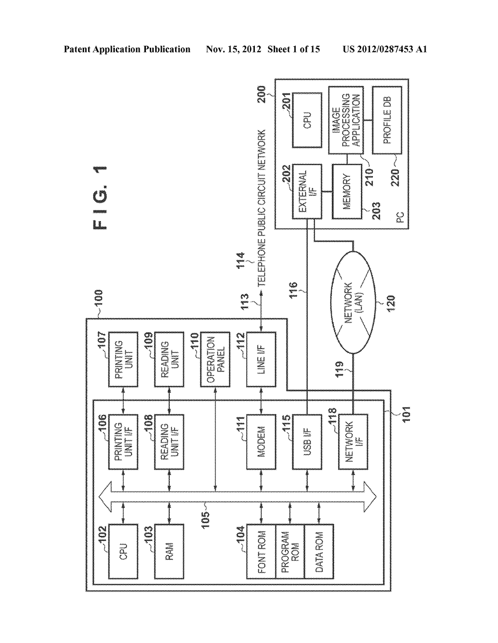 IMAGE FORMING APPARATUS, METHOD OF CONTROLLING THE SAME AND RECORDING     MEDIUM - diagram, schematic, and image 02