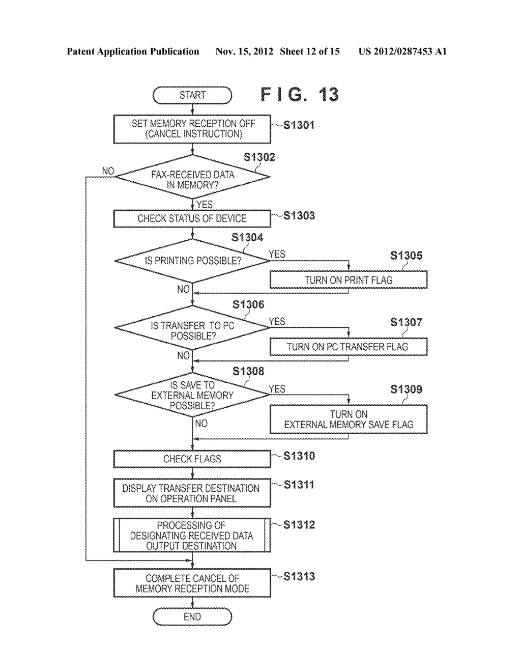 IMAGE FORMING APPARATUS, METHOD OF CONTROLLING THE SAME AND RECORDING     MEDIUM - diagram, schematic, and image 13