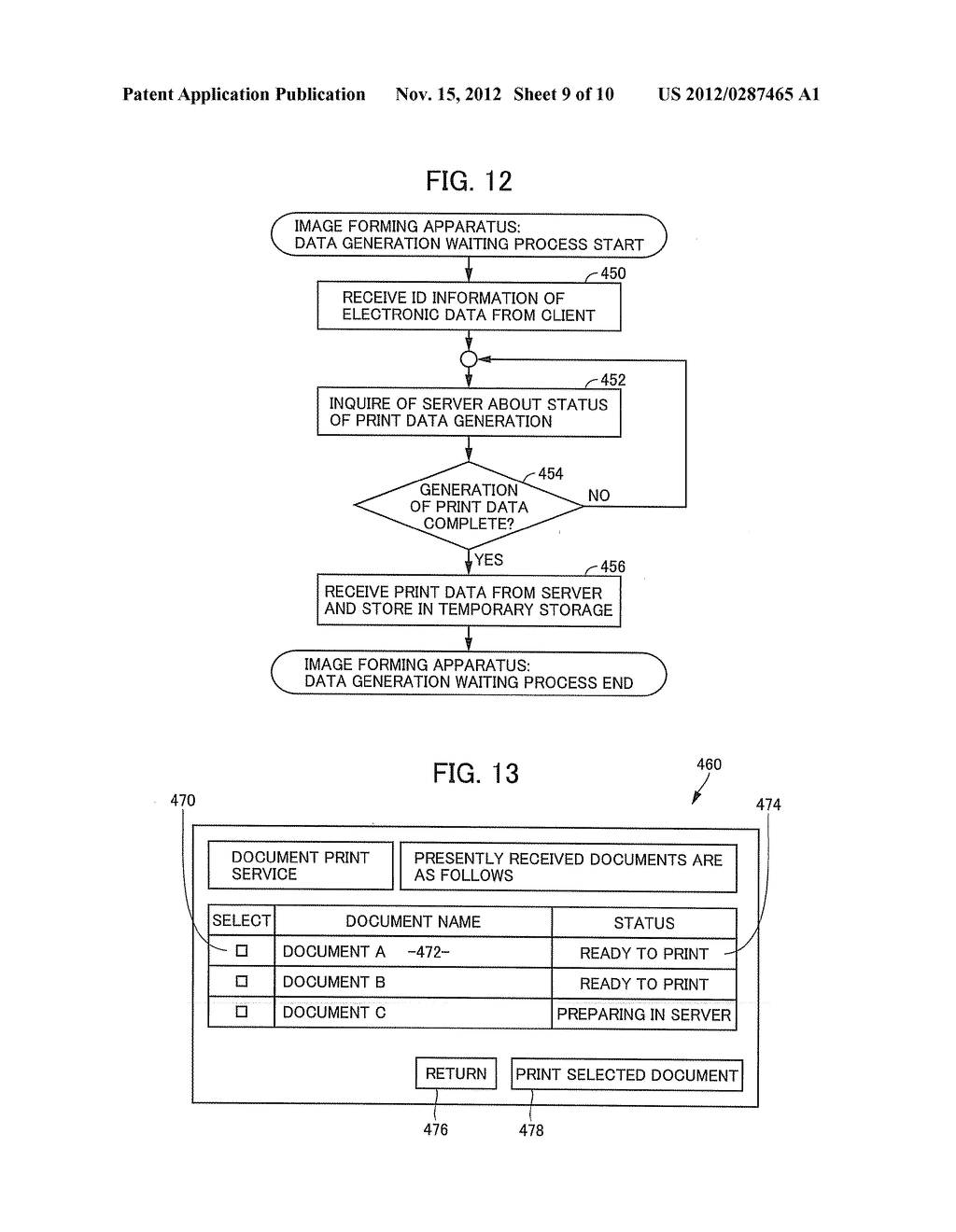 CLIENT APPARATUS, PRINT DATA GENERATION SERVER AND IMAGE FORMING APPARATUS     FOR NETWORK PRINT SYSTEM - diagram, schematic, and image 10