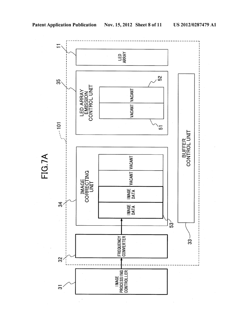 OPTICAL SCANNER, IMAGE FORMING APPARATUS, AND BUFFER CONTROL METHOD FOR     OPTICAL SCANNER - diagram, schematic, and image 09