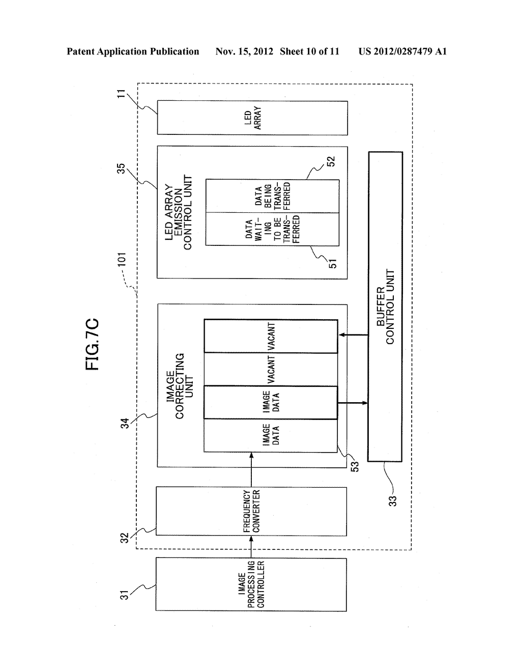 OPTICAL SCANNER, IMAGE FORMING APPARATUS, AND BUFFER CONTROL METHOD FOR     OPTICAL SCANNER - diagram, schematic, and image 11