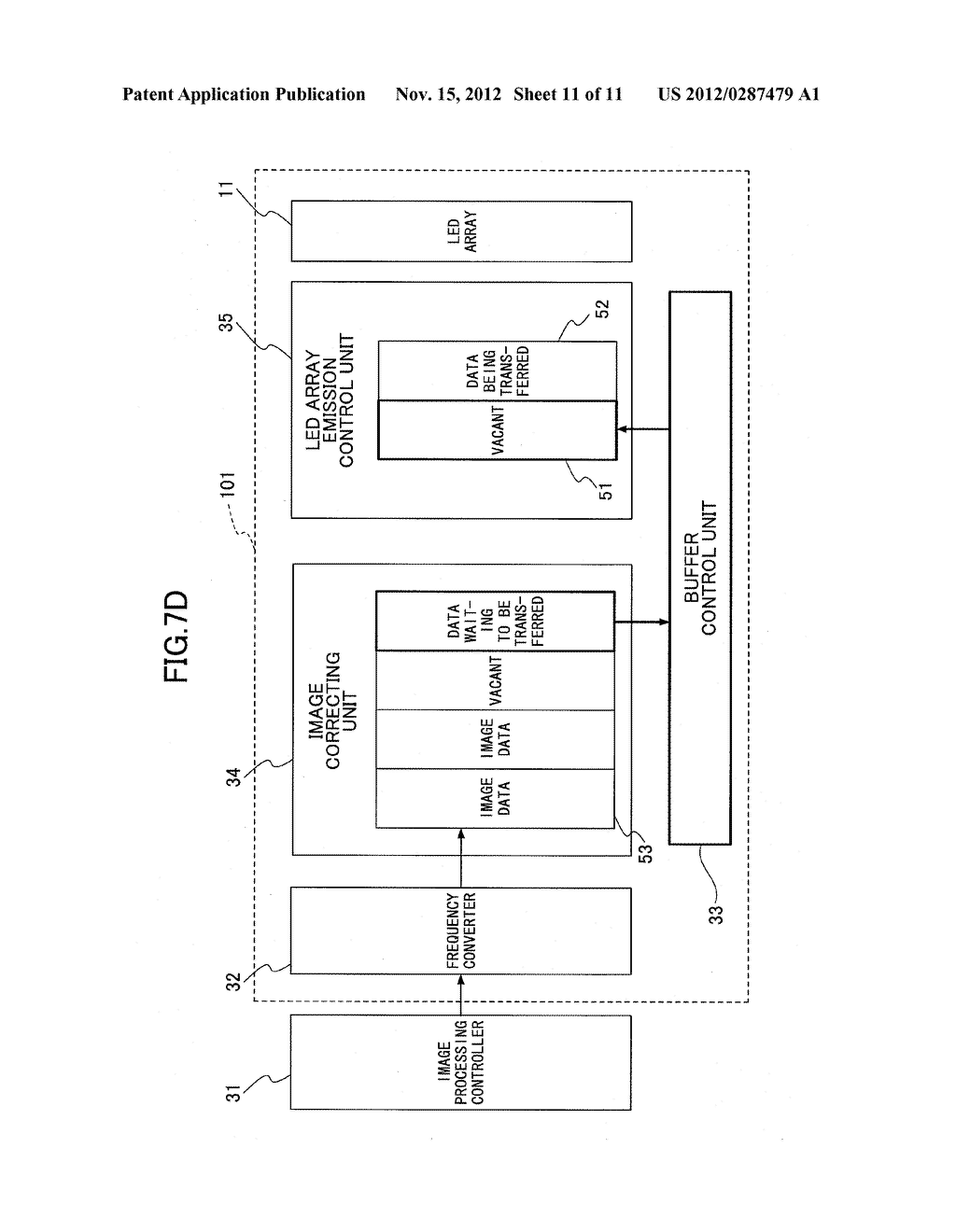 OPTICAL SCANNER, IMAGE FORMING APPARATUS, AND BUFFER CONTROL METHOD FOR     OPTICAL SCANNER - diagram, schematic, and image 12