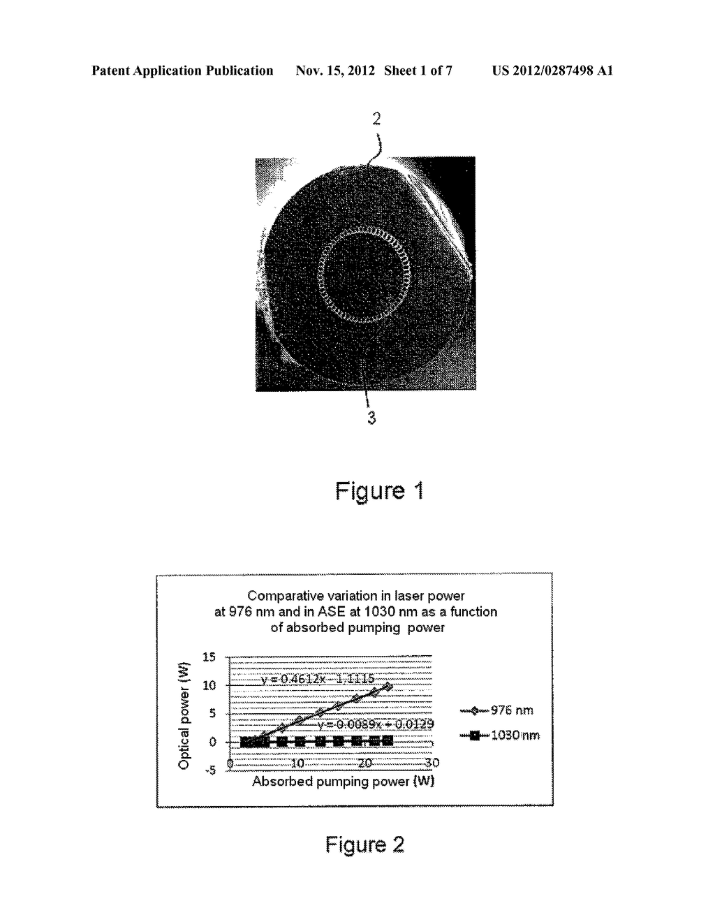 Optical Source Implementing a Doped Fiber, Fiber for Such an Optical     Source and Method for Manufacturing Such a Fiber - diagram, schematic, and image 02