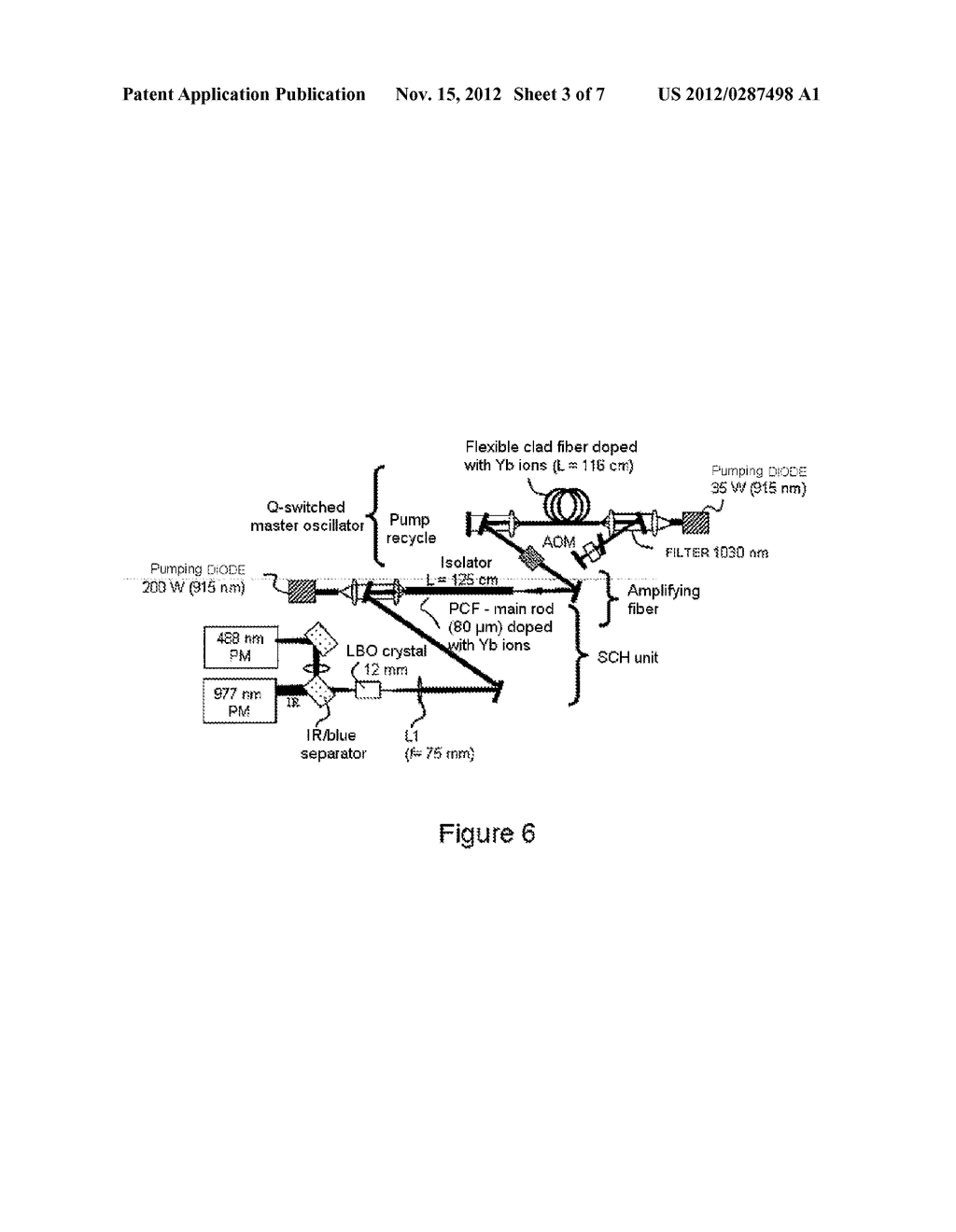 Optical Source Implementing a Doped Fiber, Fiber for Such an Optical     Source and Method for Manufacturing Such a Fiber - diagram, schematic, and image 04