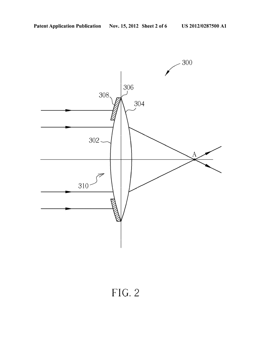 OPTICAL LENS AND OPTICAL MICROSCOPE SYSTEM USING THE SAME - diagram, schematic, and image 03