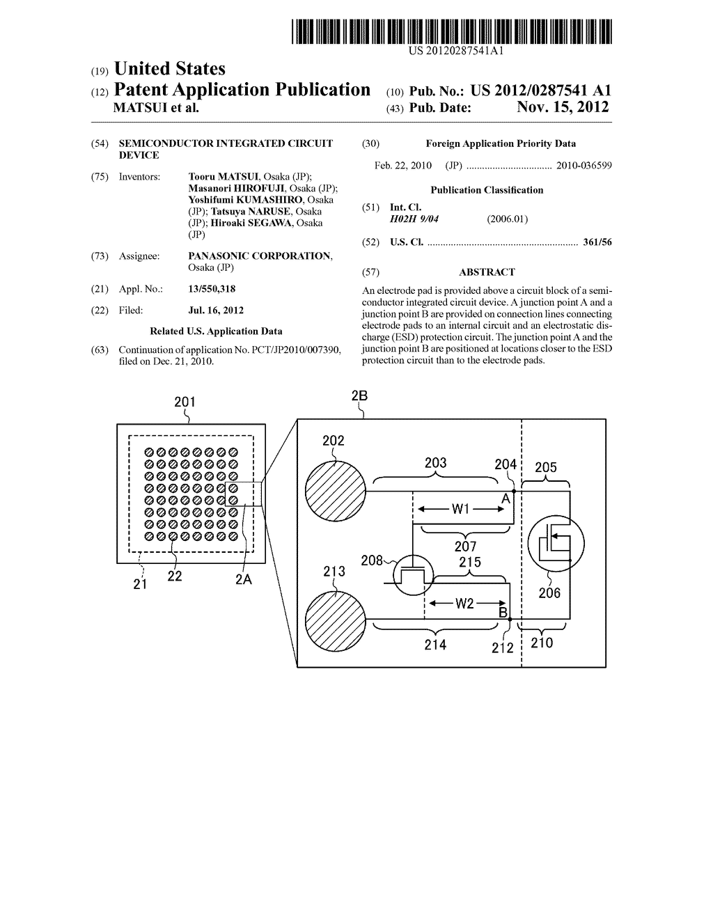 SEMICONDUCTOR INTEGRATED CIRCUIT DEVICE - diagram, schematic, and image 01