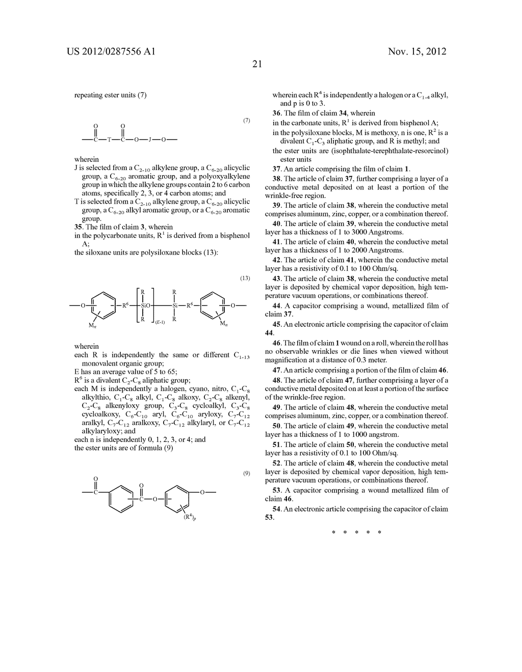 AMORPHOUS POLYCARBONATE FILMS FOR CAPACITORS, METHODS OF MANUFACTURE, AND     ARTICLES MANUFACTURED THEREFROM - diagram, schematic, and image 22