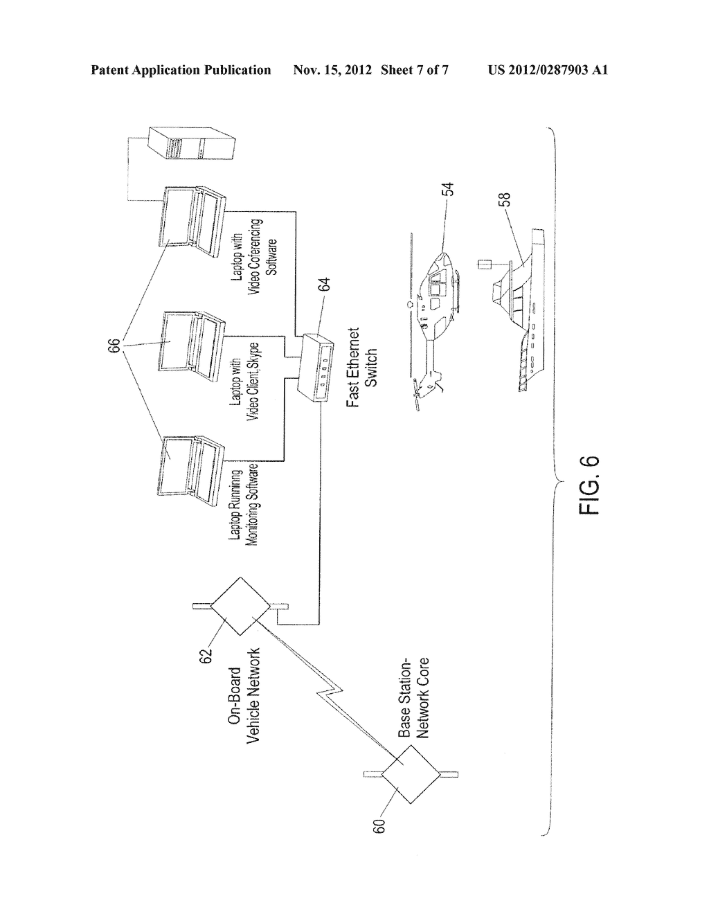 Terrestrial Based High Speed Data Communications Mesh Network - diagram, schematic, and image 08