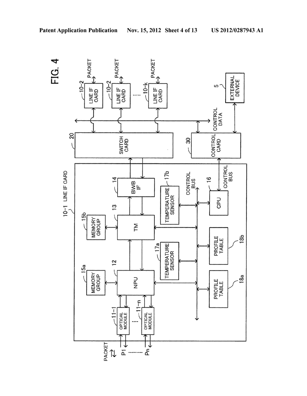 COMMUNICATION APPARATUS AND HEAT GENERATION SUPPRESSING METHOD - diagram, schematic, and image 05