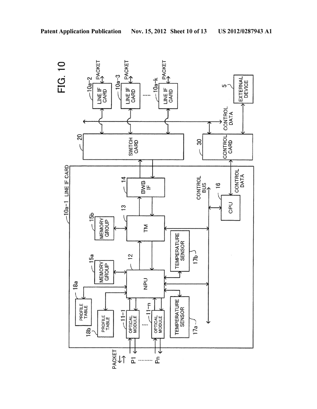 COMMUNICATION APPARATUS AND HEAT GENERATION SUPPRESSING METHOD - diagram, schematic, and image 11