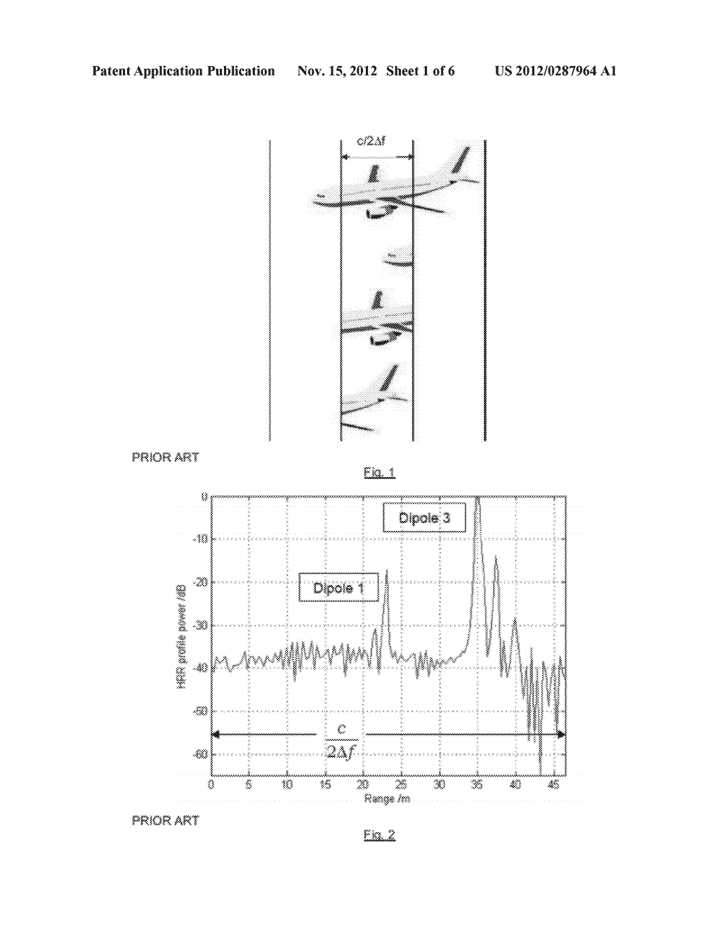 METHOD OF PROVIDING A RADAR HIGH RANGE RESOLUTION PROFILE - diagram, schematic, and image 02