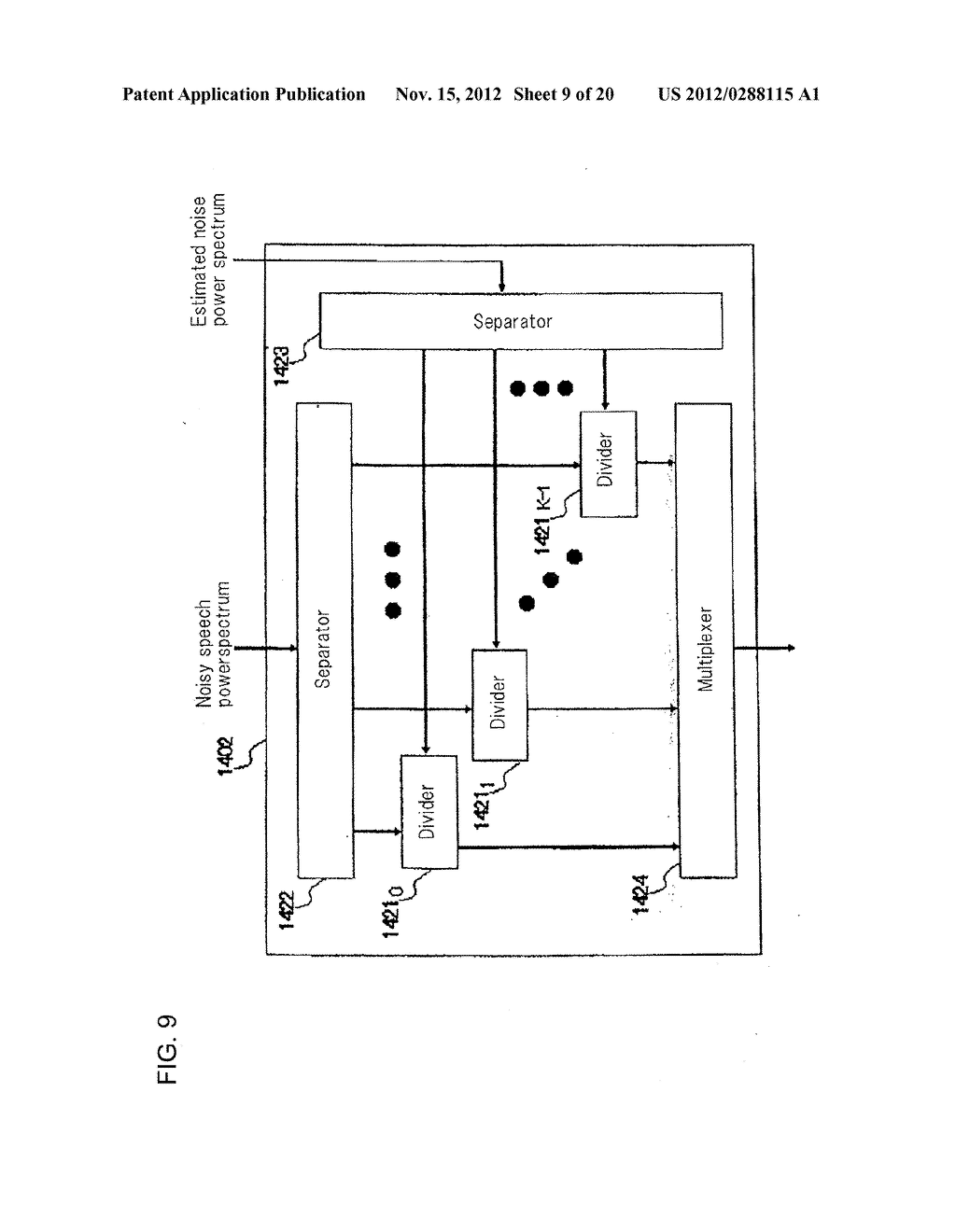 Method, Apparatus, and Computer Program For Suppressing Noise - diagram, schematic, and image 10