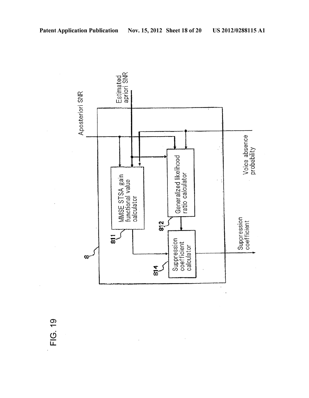 Method, Apparatus, and Computer Program For Suppressing Noise - diagram, schematic, and image 19