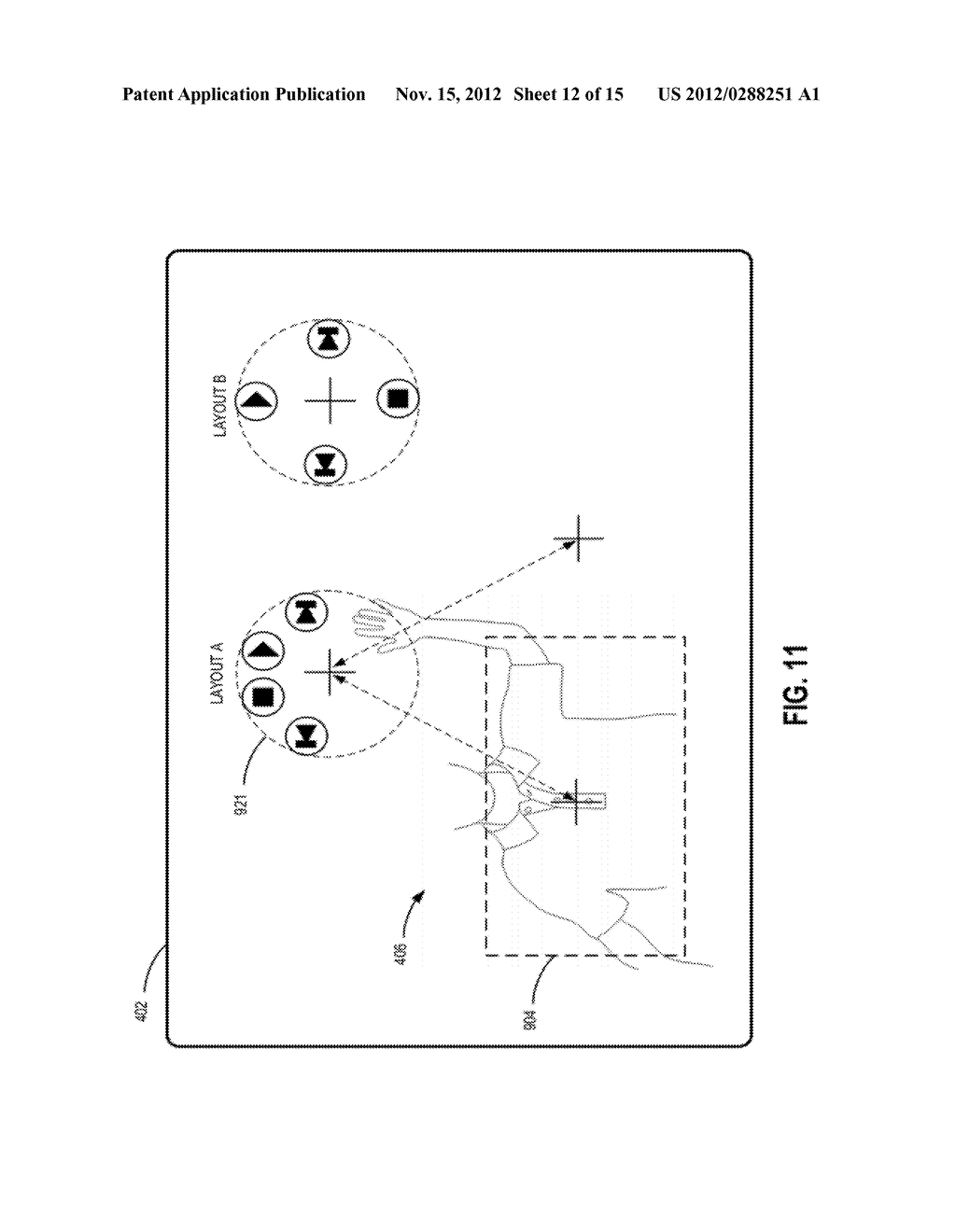 SYSTEMS AND METHODS FOR UTILIZING OBJECT DETECTION TO ADAPTIVELY ADJUST     CONTROLS - diagram, schematic, and image 13