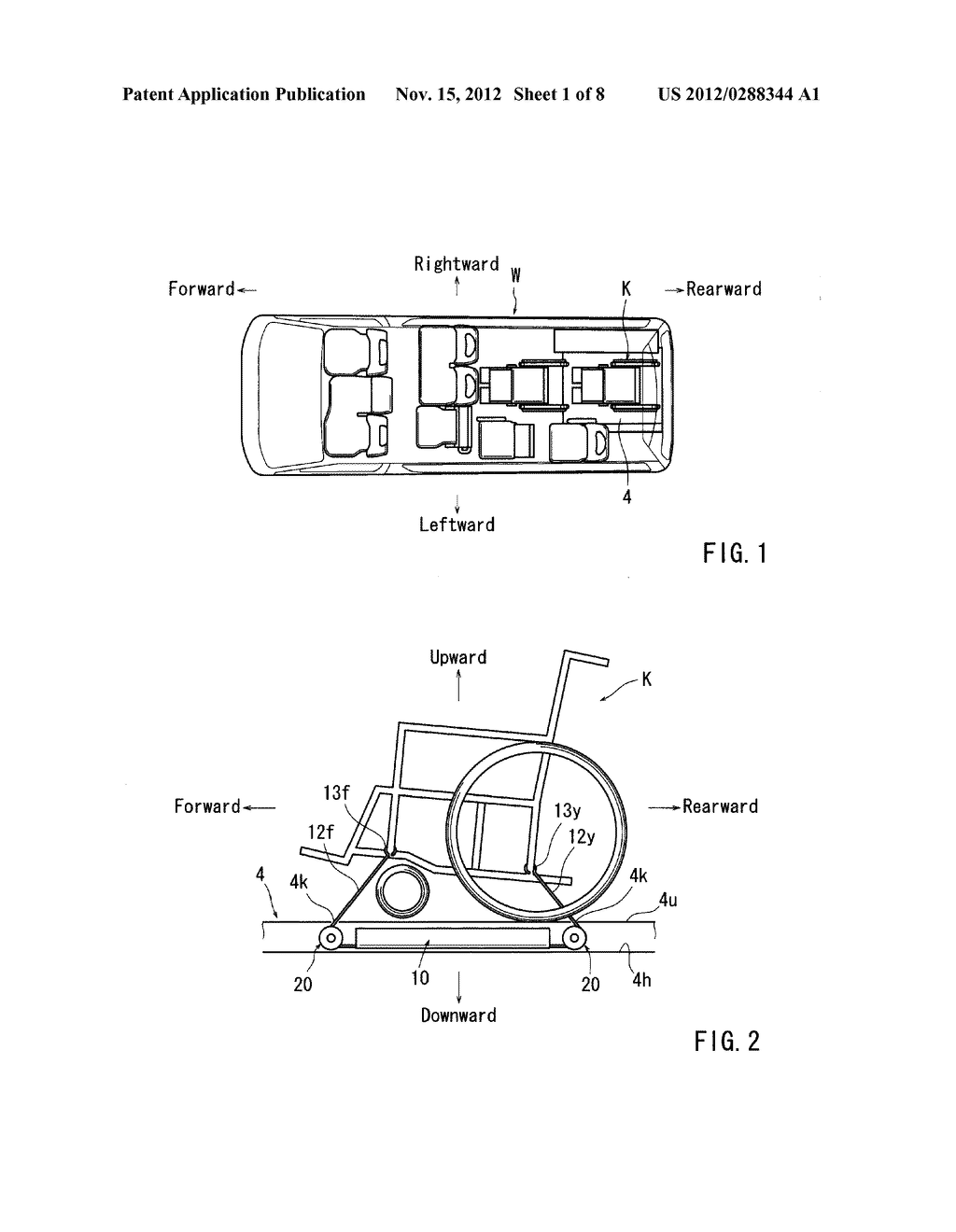 WHEELCHAIR SECURING DEVICE - diagram, schematic, and image 02